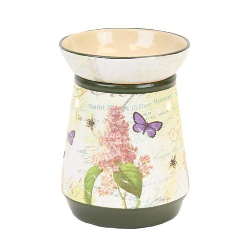 Tall Lamp Tart Warmer Butterfly 2-Ceramic Electric Warmers-Ice 'N' Fire