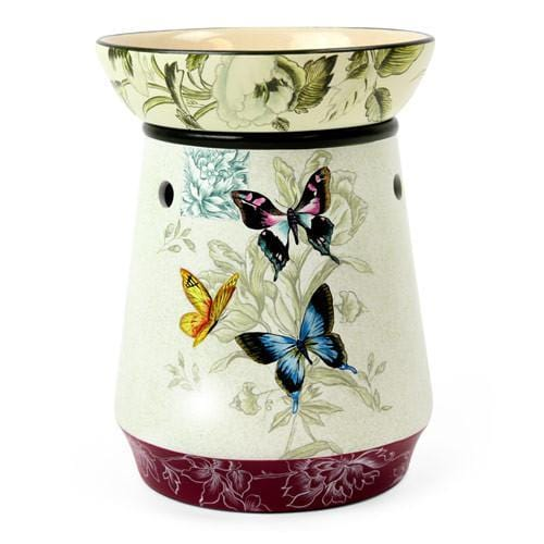 Tall Lamp Tart Warmer Butterfly-Ceramic Electric Warmers-Ice 'N' Fire