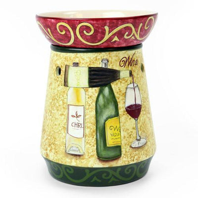 Tall Lamp Tart Warmer Wine-Ceramic Electric Warmers-Ice 'N' Fire