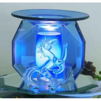 Unicorn Glass Figurine Electric Oil Warmer EF-802-Glass Figurine Warmer-Ice 'N' Fire