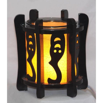 Wood Electric Oil Warmer EW-708-Wood & Metal Warmers-Ice N Fire