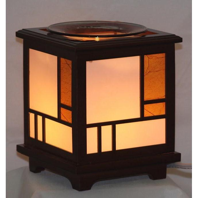 Wood Electric Oil Warmer EW-709-Wood & Metal Warmers-Ice 'N' Fire