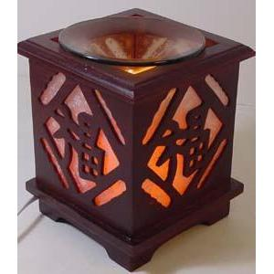 Wood Electric Oil Warmer EW-711-Wood & Metal Warmers-Ice 'N' Fire