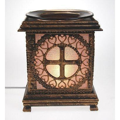 Wood Electric Oil Warmer EW-750-Wood & Metal Warmers-Ice 'N' Fire