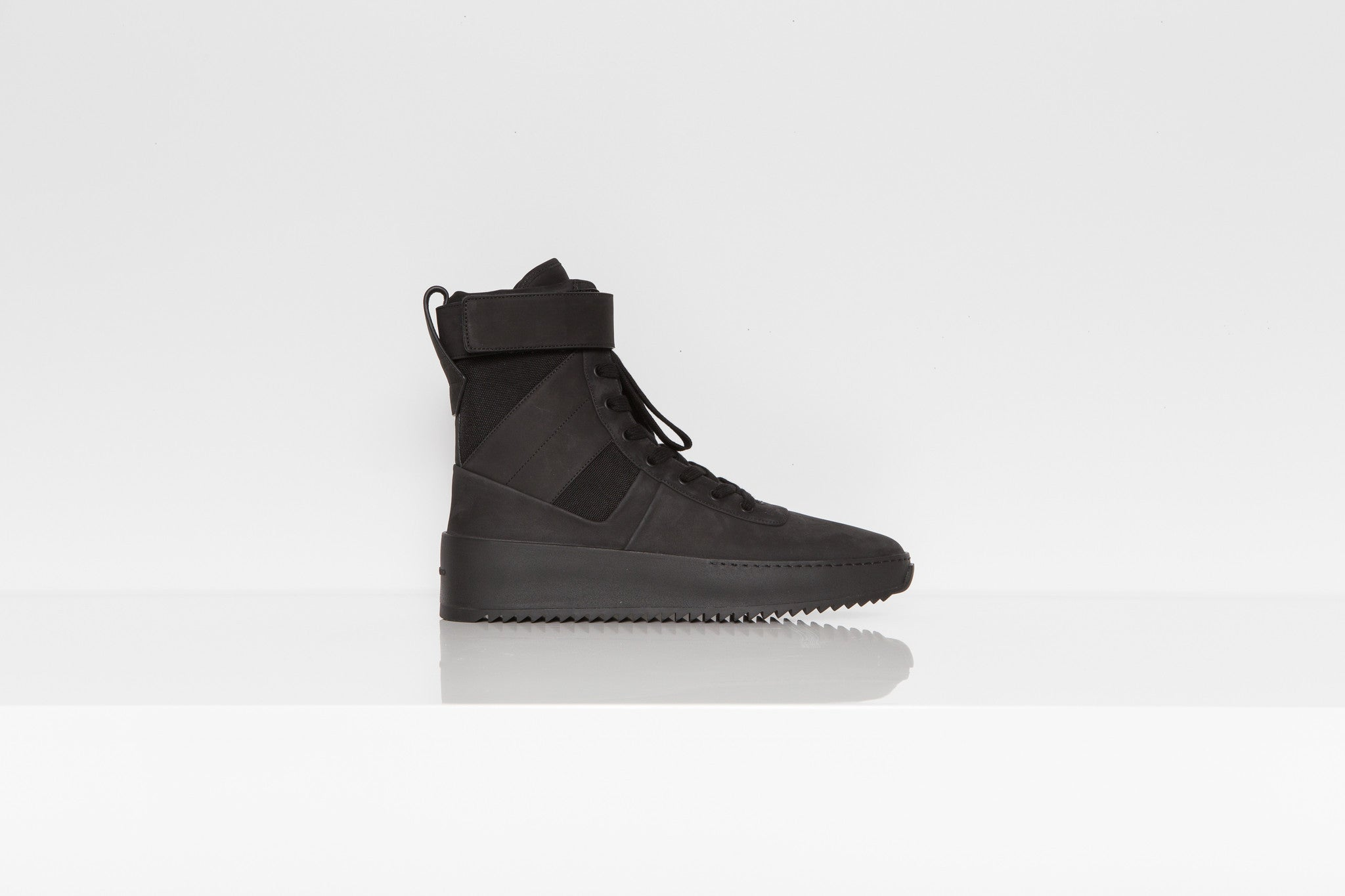 Fear of God Military Tonal Black Sneakers
