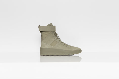 Fear of God Military Tonal Army Green Sneakers