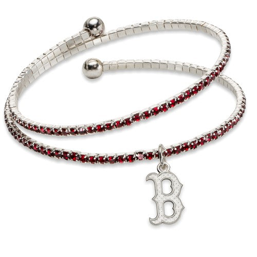 Red Sox Crystal Wrap Bracelet