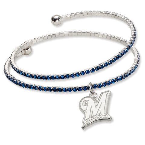 Brewers Crystal Wrap Bracelet