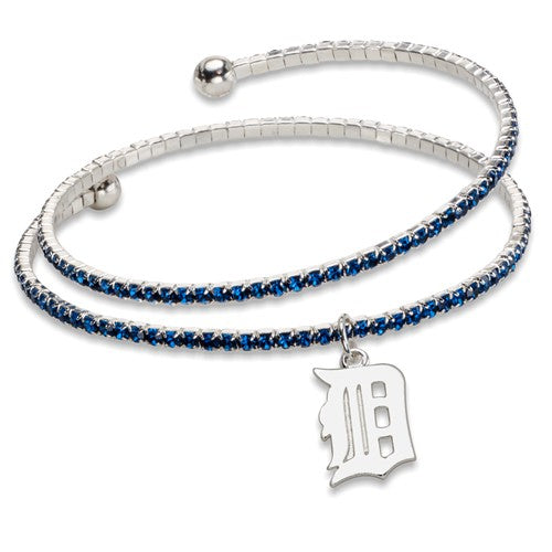 Tigers Crystal Wrap Bracelet