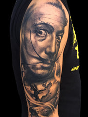Carl Grace Freehand Tattoo Art