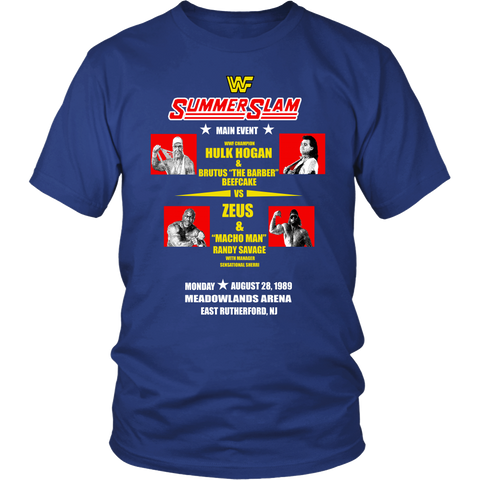 WWF Summerslam 1989 Retro T-Shirt