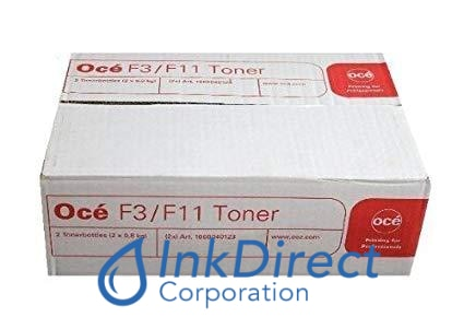 1 Bottle - Genuine Oce 2107032653 - L F11 / F3 Toner Black Toner