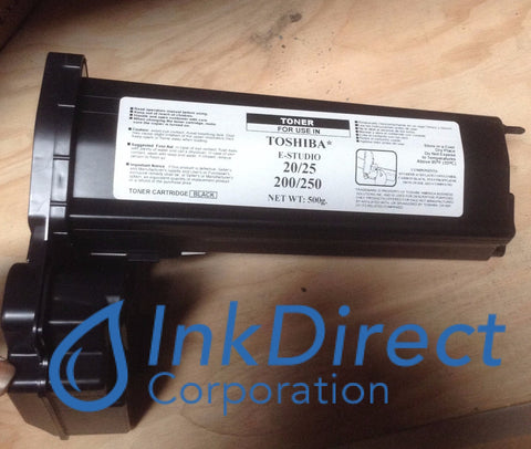 1 - Compatible Replacement for Toshiba T2500 T-2500 Toner Cartridge Black e-Studio 20 25