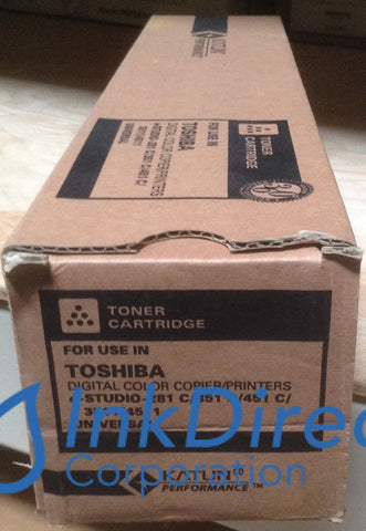 1 - Compatible Replacement for Toshiba T281CK T-281C-K  Toner Cartridge Black e-Studio 281C 351C 451C
