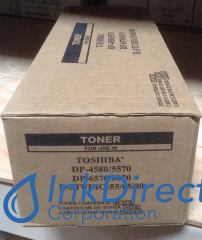 1 - Compatible Replacement For Toshiba T6570 T-6570 Toner Cartridge Black