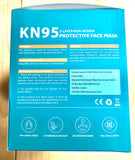 A KN95 Protective Face Mask with 5-Layer Anti-Bacteria Anti-Virus ( Pack of 5 ) Filtering effect > 95%
