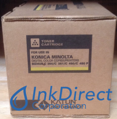 Compatible Konica Minolta 4053501 4053-501 Tn-310Y Tn310Y Toner Cartridge Yellow