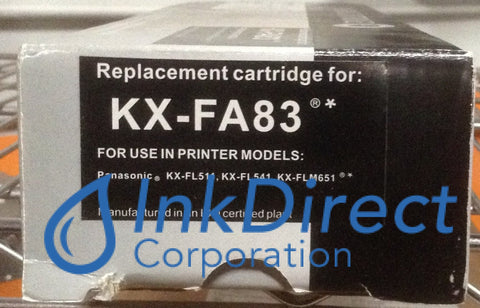 Compatible Replacement For Panasonic Kxfa83 Kx-Fa83 Toner Black