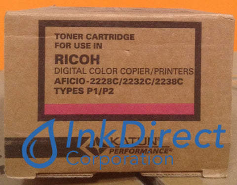 Compatible Replacement For Ricoh 884902 Type P1 Toner Cartridge Magenta