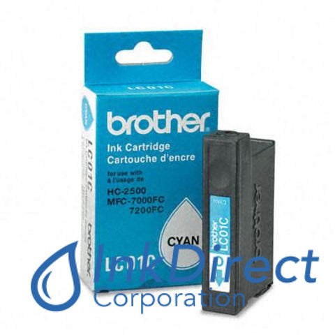 ( Expired ) Genuine Brother Lc01C Lc-01C Ink Tank Cyan
