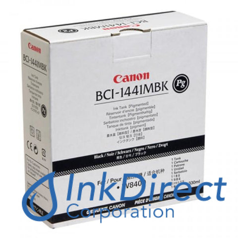 ( Expired ) Genuine Canon 0174B001Aa Bci-1441Mbk Ink Tank Matt Black