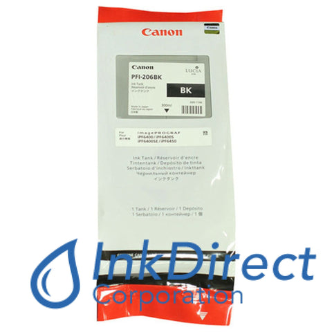 ( Expired ) Genuine Canon 5303B001Aa Pfi-206Bk Ink Tank Black