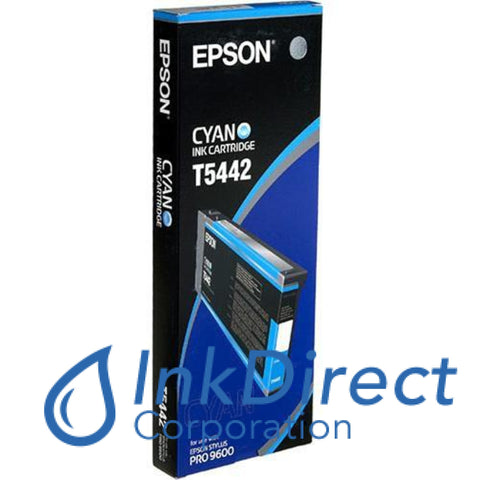 ( Expired ) Genuine Epson T544200 T5442 Ultrachrome Ink Jet Cartridge Cyan