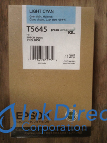 ( Expired ) Genuine Epson T564500 K3 Ink Ink Jet Cartridge Light Cyan