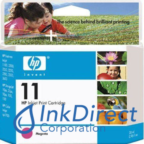 ( Expired ) Genuine Hp C4837A 11 Ink Jet Cartridge Magenta