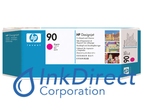 ( Expired ) Genuine Hp C5056A 90 Printhead And Cleaner Magenta