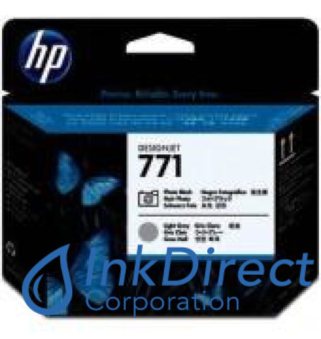 ( Expired ) Genuine Hp Ce020A 771 Printhead Gray & P. Black