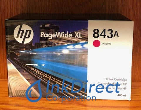 ( Expired ) HP C1Q59A 843A Ink Jet Cartridge Magenta PageWide XL 4000 MFP4500 MFP Ink Jet Cartridge , HP   - PageWide  XL 4000 MFP,  4000 Printer,  4500 MFP,  4500 Printer