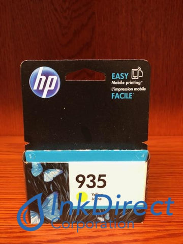 ( Expired ) HP C2P22AN HP 935 Ink Jet Cartridge Yellow Ink Jet Cartridge , HP - InkJet Printer OfficeJet 6812, 6815, OfficeJet Pro 6230, 6230 ePrinter, 6830, 6835