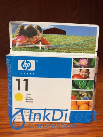 ( Expired ) HP C4838A HP 11 Ink Jet Cartridge Yellow Ink Jet Cartridge , HP - InkJet Printer CP1700, CP1700D, Bus InkJet 1100D, 1200D, 2200, 2200XI, 2230, 2250, 2250TN, 2280, 2280TN, 2600, 2600DN, 2800, DesignJet 10PS, 120, 120NR, 20PS, 50PS, DeskJet 1200, 1200D, 1200DTN, 2300, 2300DTN, 2300N, 2600, 2600DN, 2800, 2800DT, 2800DTN, - Multi Function OfficeJet 9110, 9120, 9130