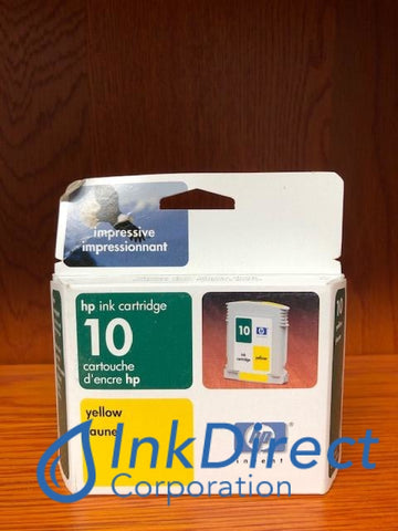 ( Expired ) HP C4842A HP 10 Ink Jet Cartridge Yellow Ink Jet Cartridge , HP - InkJet Printer DeskJet 2000C+, 2000CN, 2000CSE, 2000CXI, 2500C, 2500CM, 2500CXI,