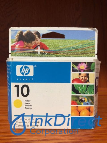 ( Expired ) HP C4842A HP 10 Ink Jet Cartridge Yellow Ink Jet Cartridge , HP - InkJet Printer DeskJet 2000C+, 2000CN, 2000CSE, 2000CXI, 2500C, 2500CM, 2500CXI