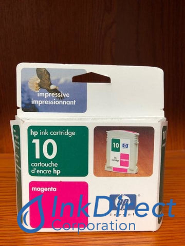 ( Expired ) HP C4843A HP 10 Ink Jet Cartridge Magenta Ink Jet Cartridge , HP - InkJet Printer DeskJet 2000C+, 2000CN, 2000CSE, 2000CXI, 2500C, 2500CM, 2500CXI,