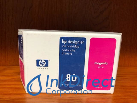 ( Expired ) HP C4847A HP 80 Ink Jet Cartridge Magenta Ink Jet Cartridge , HP - InkJet Printer DesignJet 1050C, 1055CM