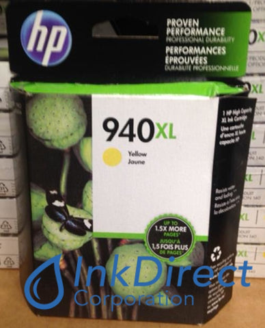 ( Expired ) HP C4909AN C4909AL HP 940XL High Yield Ink Jet Cartridge Yellow Ink Jet Cartridge , HP - All-in-One OfficeJet Pro 8000, 8500