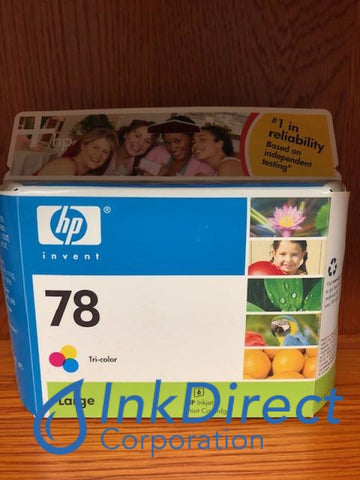 ( Expired ) HP C6654BN 78 Ink Jet Cartridge Tri-Color Ink Jet Cartridge , HP - InkJet Printer DeskJet 1220C, 3820, 6122, 932C, 950C, 960C, 970CXI, 990CSE, 990CXI, 995C, 995CK, OfficeJet G55, G55XI, G85, G85XI, G95, K, K60, K60XI, K80, K80XI, V40, V40XI, - Multi Function PSC 950, - Photo Printer PhotoSmart 1215, P1000, P1100, P1218