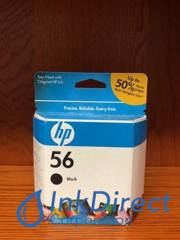 ( Expired ) HP C6656AN HP 56 Ink Jet Cartridge Black Ink Jet Cartridge , HP - Digital Copier 410, - Fax Inkjet Fax 1240, - InkJet Printer DeskJet 450, 450CI, 5150, 5550, 5650, 5850, 9650, 9670, 9680, - Multi Function OfficeJet 4110, 4215, 5505, 5510, 5610, 6110, PSC 1110, 1209, 1210, 1310, 1311, 1315, 1317, 1350, 2105, 2108, 2110, 2150, 2175, 2200, 2210, 2410, 2510, - Photo Printer PhotoSmart 130, 230, 7150, 7260, 7350, 7450, 7550, 7660, 7755, 7760, 7960,