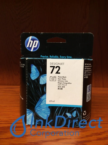( Expired ) HP C9397A HP 72 Ink Jet Cartridge Photo Black Ink Jet Cartridge , HP - InkJet Printer DesignJet T1100, T610