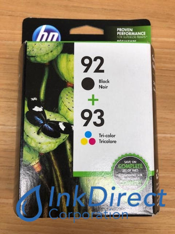 ( Expired ) HP C9513FN C9513BN HP 92 93 Combo Pack ( C9362WN C9361WN ) Ink Jet Cartridge Black & Color Ink Jet Cartridge , HP - InkJet Printer DeskJet 5420V, 5440, 5440V, 5440XI, 5442, 5443, - Photo Printer PhotoSmart 7850, C3100, C3140, C3150, C3180