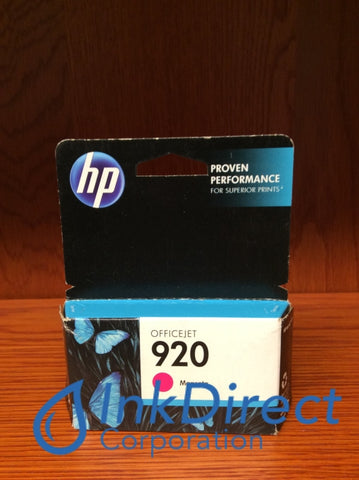 ( Expired ) HP CH635AN HP 920 Ink Jet Cartridge Magenta OfficeJet 6000 6500 7000 Ink Jet Cartridge , HP - All-in-One OfficeJet Pro 6500, - InkJet Printer OfficeJet 6000, 6500, 7000,