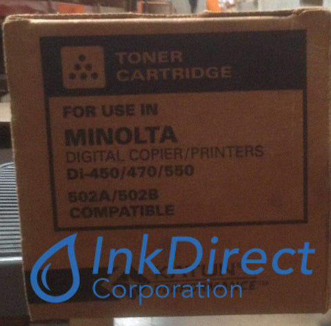 Generic Konica Minolta 8936902 - L 8936-902 - Mt 502A Toner Cartridge Black