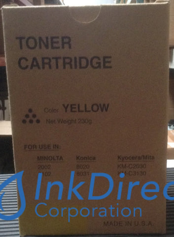 Generic Replacement For Konica Minolta 8937906 8937-906 Y4A Toner Yellow