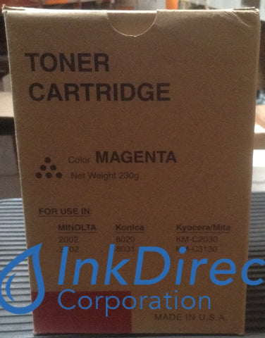 Generic Replacement For Konica Minolta 8937907 8937-907 M4A Toner Cartridge Magenta