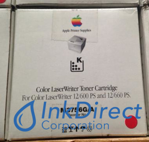 Genuine Apple M3756G/a M3756Ga Toner Black