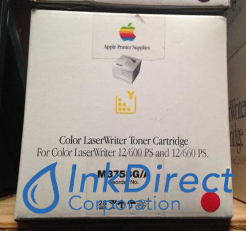 Genuine Apple M3758G/a M3758Ga Toner Yellow