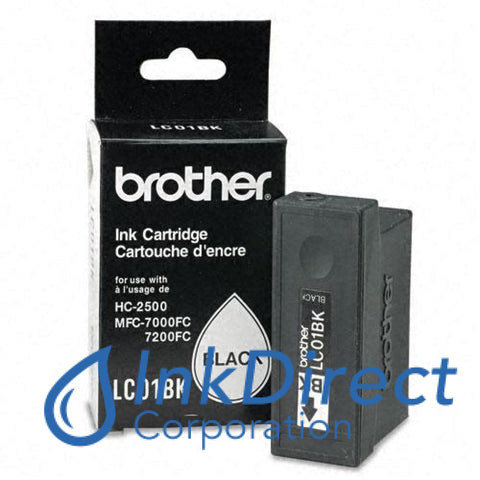 Genuine Brother Lc01Bk Lc-01Bk Ink Tank Black